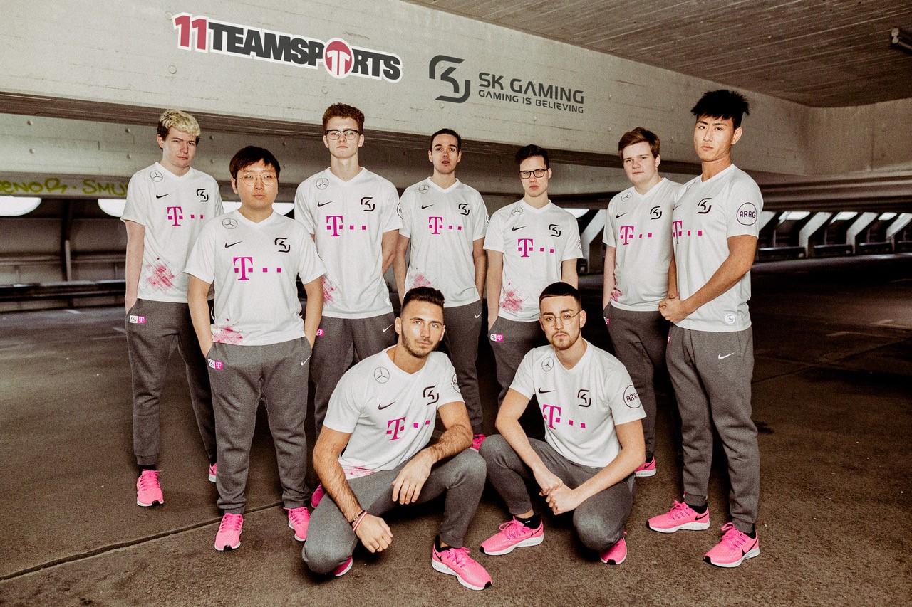 11teamsports ist Ausrüster von SK Gaming