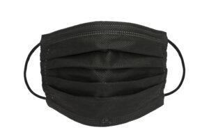 OP-Maske in schwarz