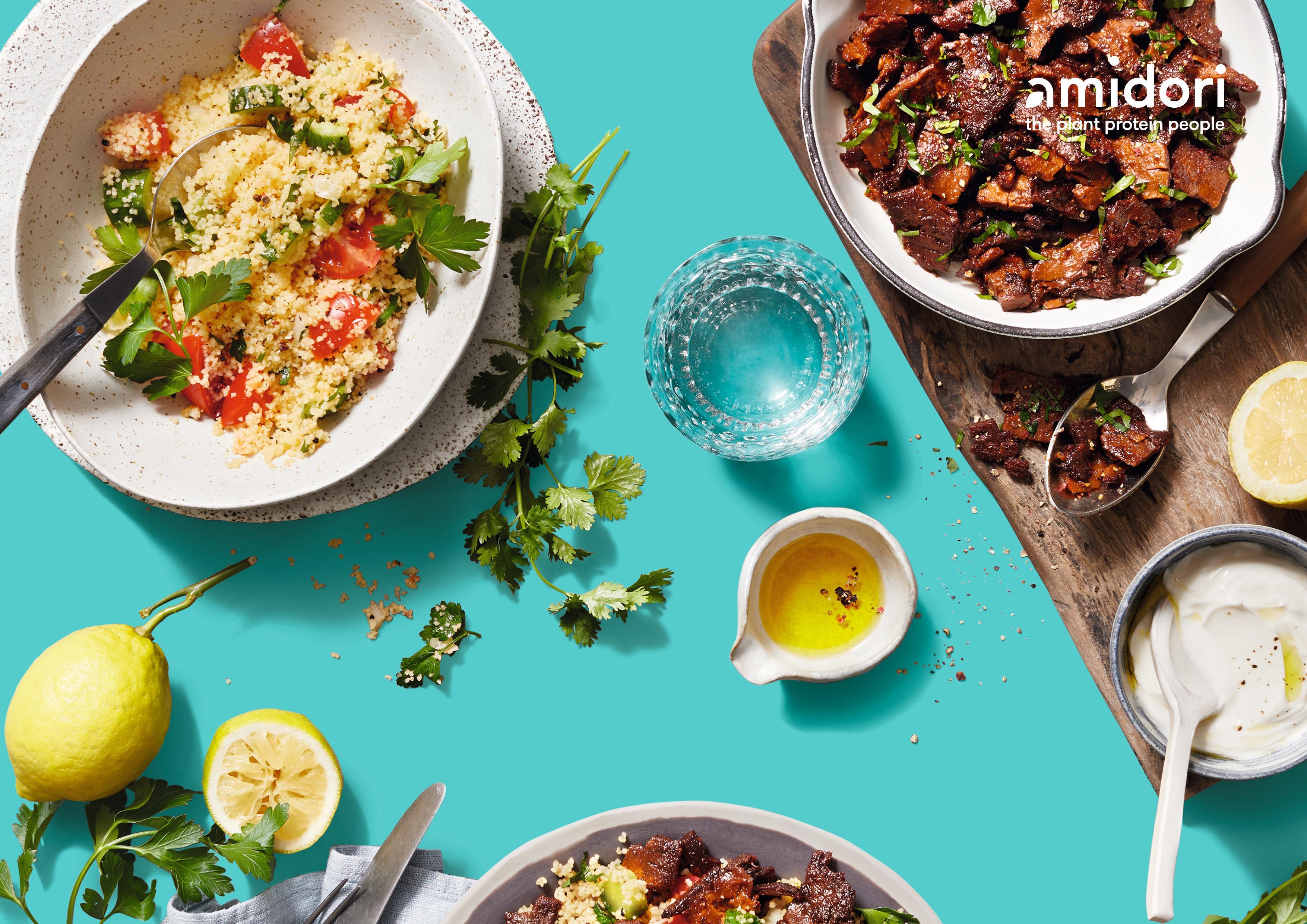 """Knackig, lecker und gesund: Amidori-Produkte enthalten Ballaststoffe und die volle Portion pflanzlicher Proteine. Einstieg in Lebensmittel-Zukunftsmarkt """"pflanzliche Proteine"""""""