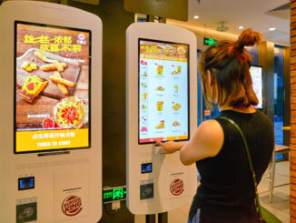 Burger King in Shenzhen China