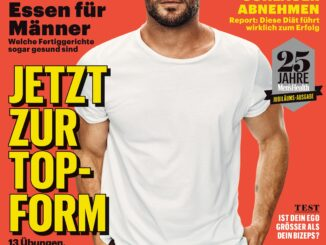 © Motor Presse Hamburg MEN'S HEALT | Cover Jubiläumsausgabe MEN'S HEALTH mit Chris Hemsworth