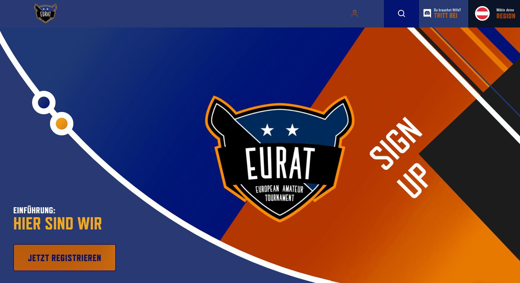 EURAT.gg: erste europäische Amateur E-Sports Plattform