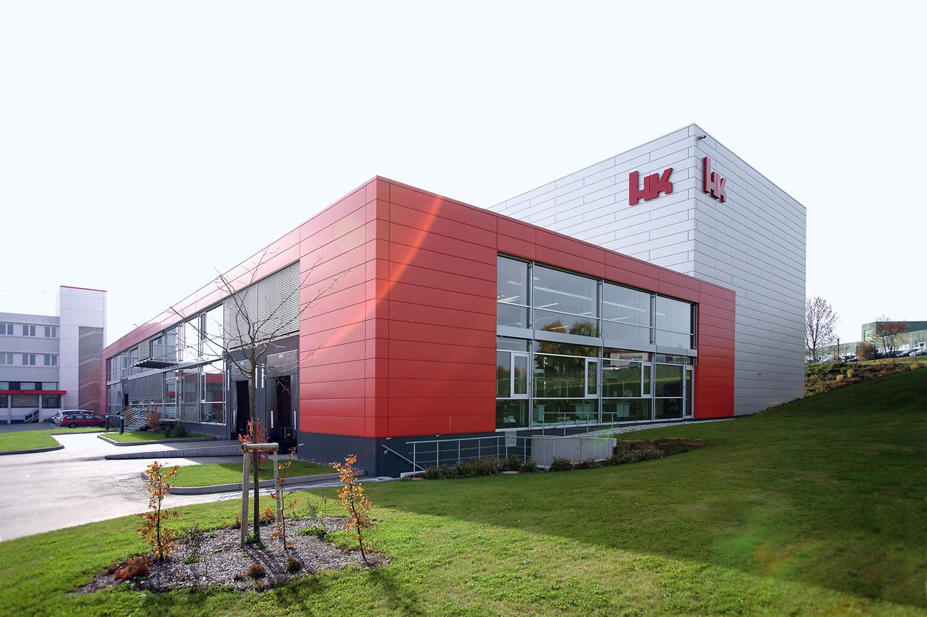 Headquarters von Heckler & Koch in Oberndorf am Neckar
