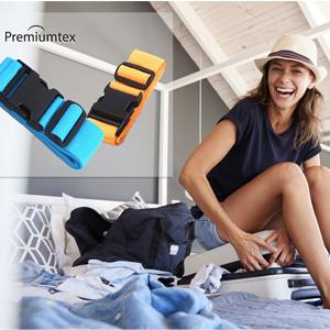 Premiumtex Koffergurte mit eigenem Logo