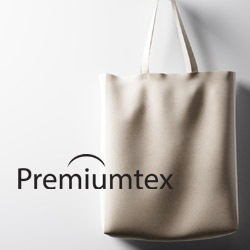 Premiumtex Baumwolltaschen mit Logodruck als Werbeartikel