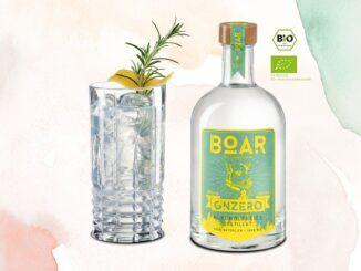 BOAR GNZERO-Die weltweit erste alkoholfreie Gin-Alternative