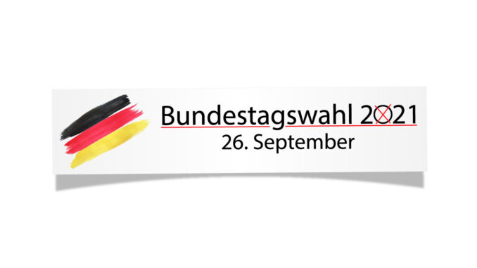 © Bild: Gemaco Media | Bundestagswahl 2021 - Stand 26.05.2021