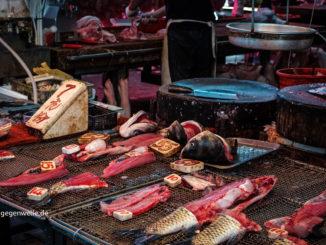 Fischmarkt in China