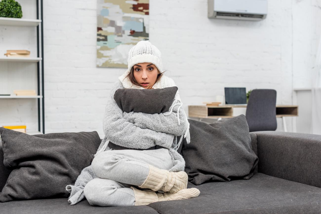 Die Wohnung bleibt kalt