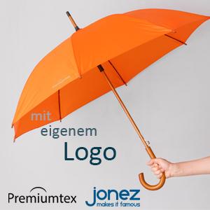 Premiumtex Regenschirm mit eigenem Logo