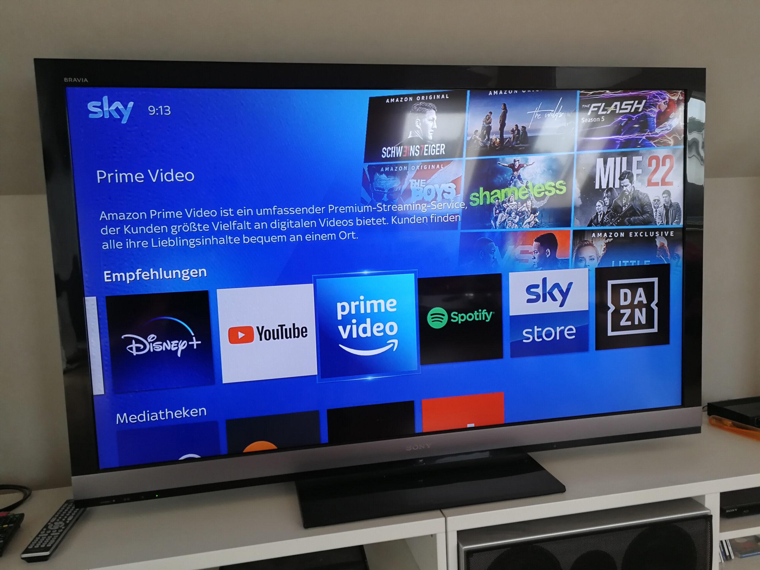 Streaming auf Flat TV