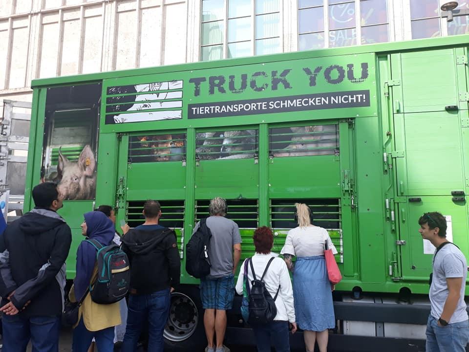 Tiertransporte verbieten