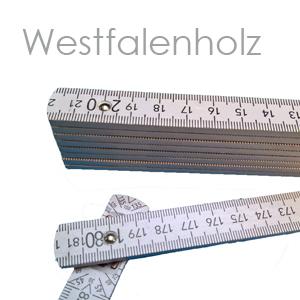 Westfalenholz Zollstock mit eigenem Logo
